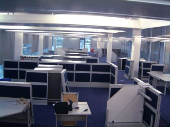 Internal Office Move in Nottingham